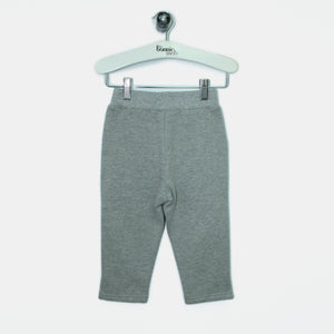 L-HENRY-Brushed Cotton Trousers-Kids-Light Grey