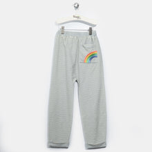 将图片加载到图库查看器,L-HOPE-Denim Stripe Trousers-Kids-Light Denim