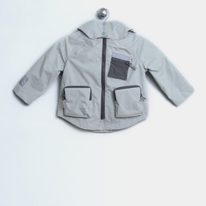 L-JOEY 21783 W - KIDS - JACKET - GREY