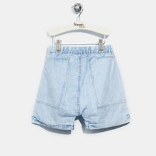 将图片加载到图库查看器,L-LEXI-Chambray Hareem Shorts-Kids-Light Denim