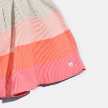 将图片加载到图库查看器,L-NALA-Colourblock Skater Skirt-Kids Girl-Blush