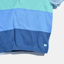 将图片加载到图库查看器,L-NILE-Colourblock Polo Shirt-Kids Boy-Blue