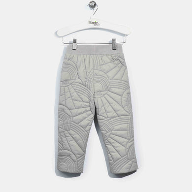L-NINA-Dove Embroidered Trouser-Kids-Grey