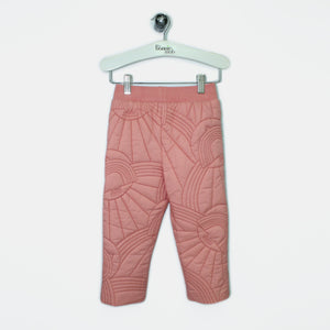 L-NINA-Dove Embroidered Trouser-Kids Girl-Pink