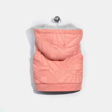将图片加载到图库查看器,L-NORMAN-Dove Embroidered Gilet-Baby Girl-Pink