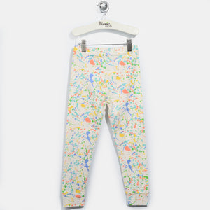 L-OSCAR-Rainbow Splat Print Leggings-Kids-Splatter