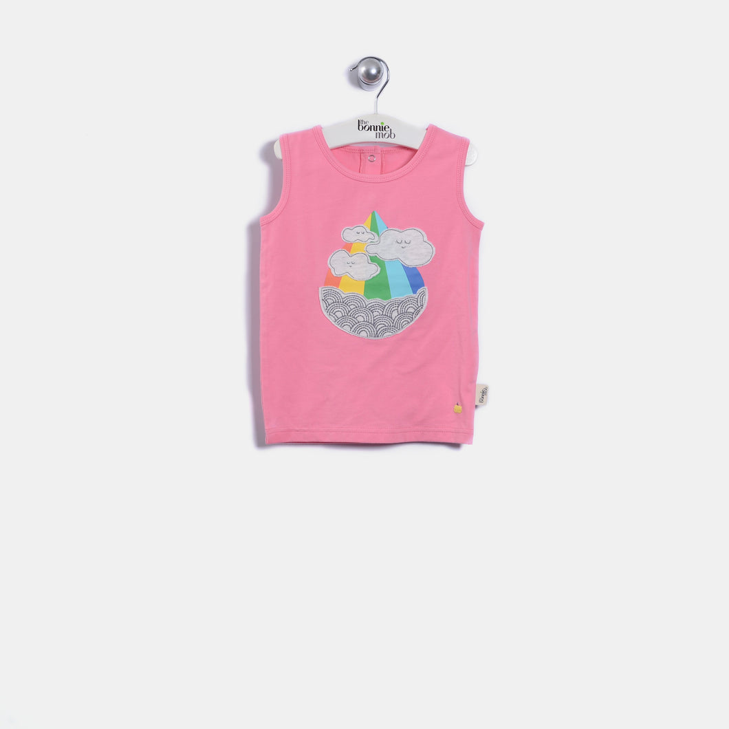 L-PAIGE - Kids - Vest - POP PINK