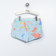 将图片加载到图库查看器,L-REESE-Splatter Print Racer Shorts-Kids-Faded Denim