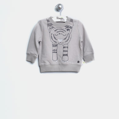 L-TYLER 21723 J - KIDS - JUMPER - GREY