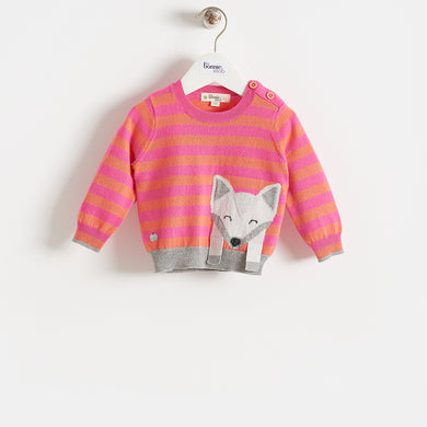 LOREK - KIDS - SWEATER - PINK