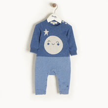 将图片加载到图库查看器,MILKYWAY - Baby - Playsuit - Moon Intarsia