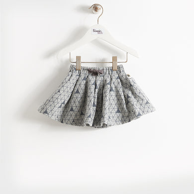 NEVE - KIDS - SKIRT - GREY MOUNTAIN PRINT