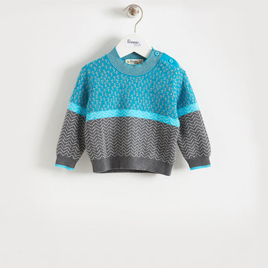 OBI - KIDS - SWEATER - BLUE