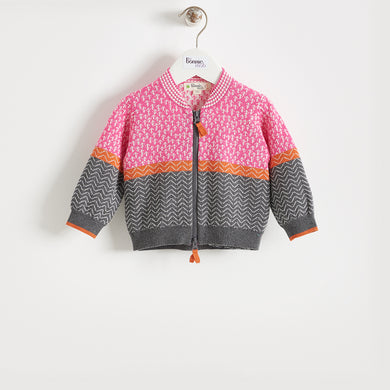 ORBIT - BABY - SWEATER - PINK