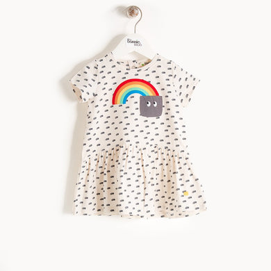 PAIGE - Baby - Dress - RAINBOW POCKET