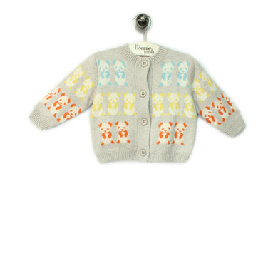 PANDA JACKET - Kids - Jacket - GREY / MUTICOLOUR