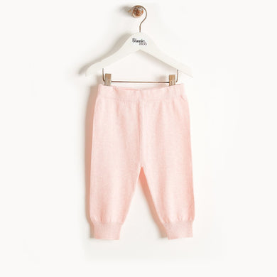 PHILLY - Knit Jogging Trousers - Baby Girl - Pale pink