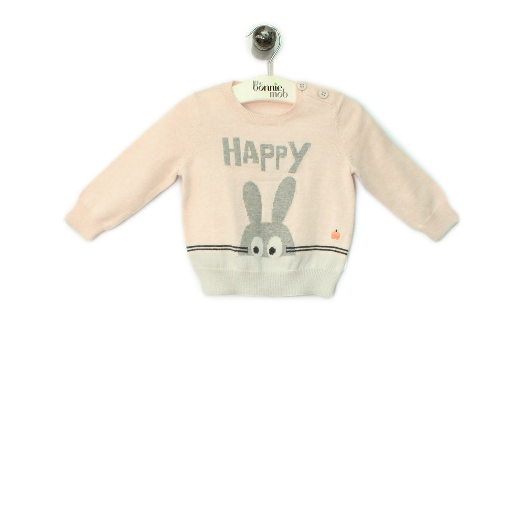 POPSY 1697 - Baby - Sweater - PALE PINK