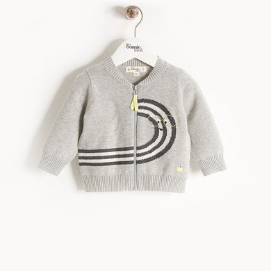QUEENIE - Kids - Cardigan - MONOCHROME