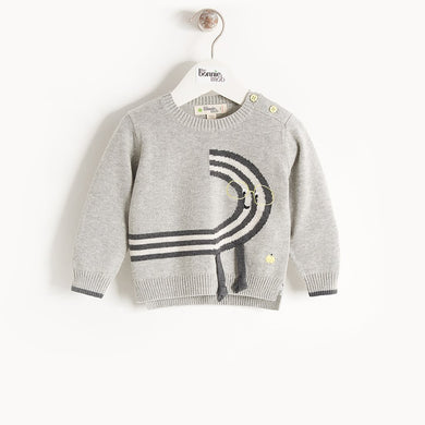 QUIRKY - Kids - Sweater - MONOCHROME