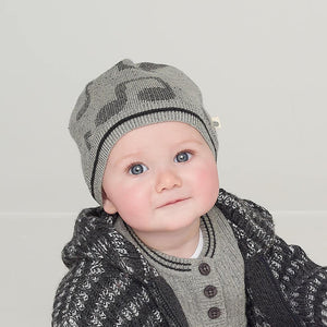 RIGBY - Baby Music Jaquard Hat - MONOCHROME