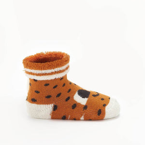SEAN - Baby Strawberry Baby Bootie Socks - GINGER