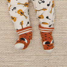 将图片加载到图库查看器,SEAN - Baby Strawberry Baby Bootie Socks - GINGER