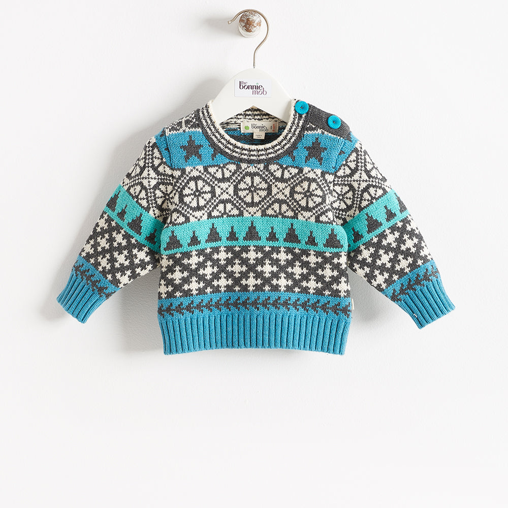 SKATER - BABY - SWEATER - BLUE