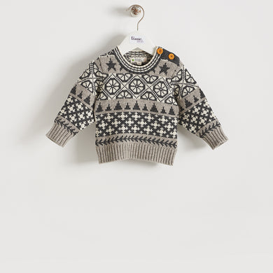 SKATER - BABY - SWEATER - GREY