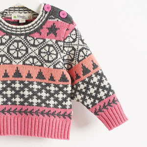 SKATER - BABY - SWEATER - PINK