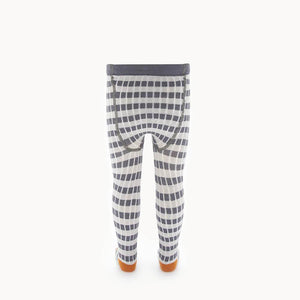 SPEAKER - Baby Striped Ribbed Tights - GREY