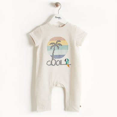 TAHITI - Baby - Playsuit - RAINBOW PALM