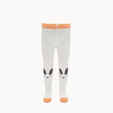 THUMPER - Baby - Bunny Face Tights - Cream