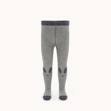 THUMPER - Baby - Bunny Face Tights - Grey