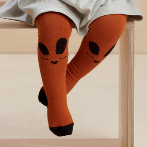 THUMPER - Baby - Bunny Face Tights - Ginger