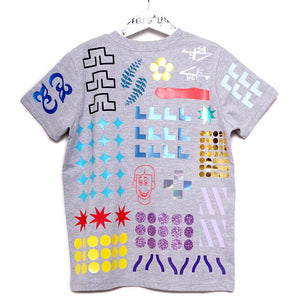 17-T EVERYTHING ALL OVER - Tshirt - GREY