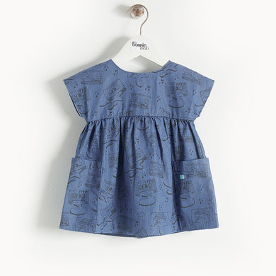 L-BEBOP - Kids - Dress - BLUE