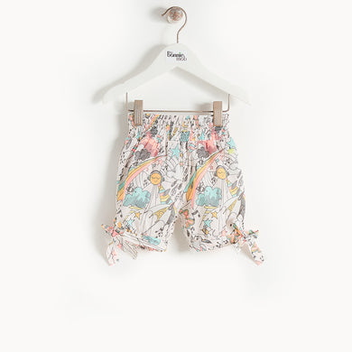 L-CYCLE - Kids - Shorts - CREAM