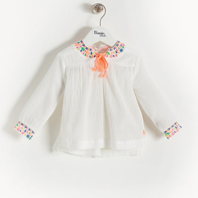 L-NOAH - Kids - Top - WHITE