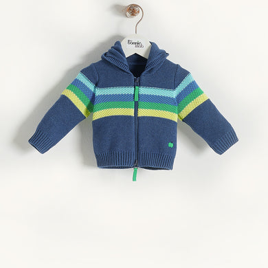 L-ROSE - Baby - Jacket - Blue