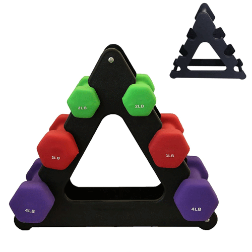 Gym accessories adjustable rack dumbbell