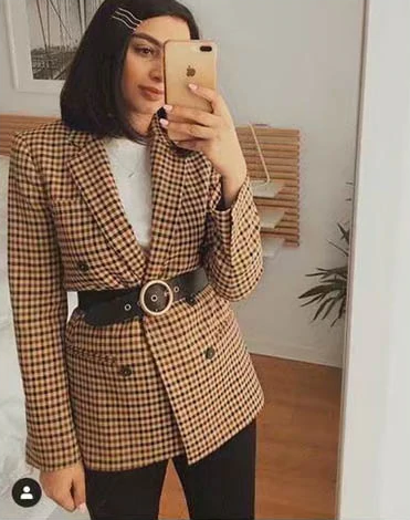 Business Female Blazer Coat