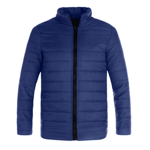 Warm Jacket Men Wave Cut Casual
