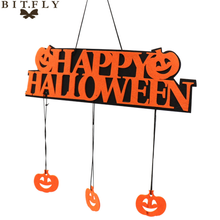 Load image into Gallery viewer, Window door Decoration Happy Halloween