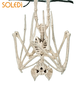 Halloween Horror Bats Skeleton
