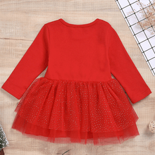 Load image into Gallery viewer, New Baby Child Christmas Elk Dress