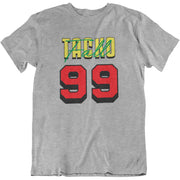 Tacko Fall Signature Gray Tshirt Senegal Print Front