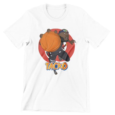Tacko Fall Tshirt Anime White