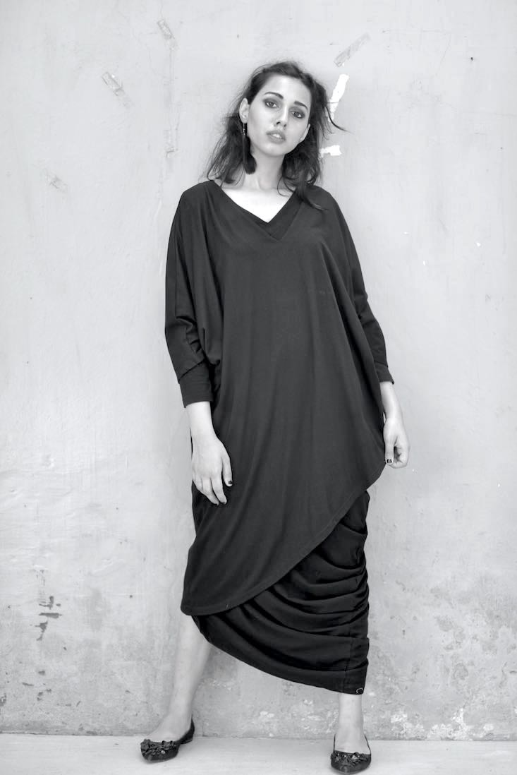 Chandra, Oversized Jumper Dresses, Sustainably Made with Organic Lycra - kinchecom