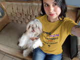 Dog Mom With Tattoos T-Shirt